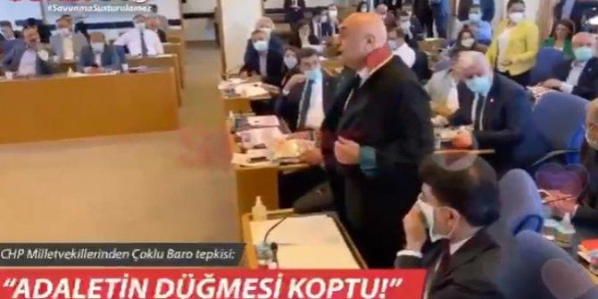AKP ve MHP'li vekillerin masalarında sürpriz! Adalet Komisyonu'na damga vuran eylem