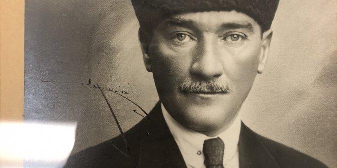 Atatürk ABD'deki hayranına göndermişti: Müzayedede satıldı