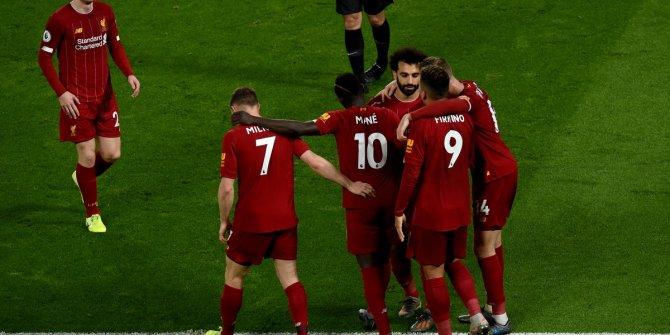 Şampiyon Liverpool, zayıf rakibine acımadı