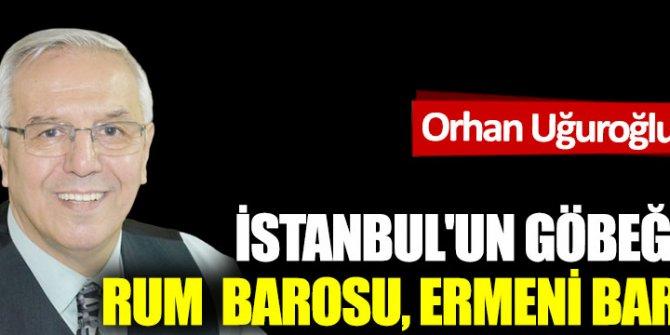 İstanbul'un göbeğinde Rum  Barosu, Ermeni Barosu...