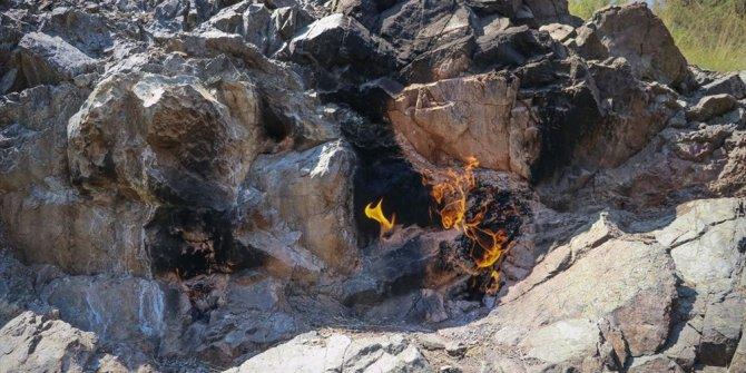 Yüzyıllardır yanan alev: Burası Olimpos, değil, Amanoslar
