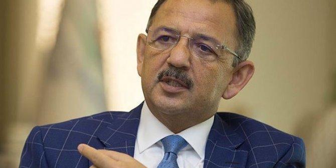 AKP'li Mehmet Özhaseki'den CHP'li belediyelere ağır suçlamalar!