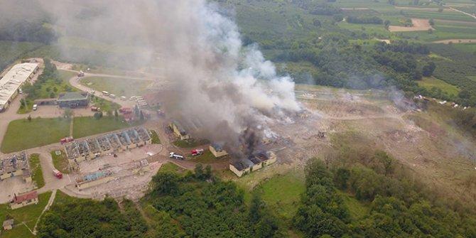 Sakarya'daki patlamada sabotaj izine rastlanmadı