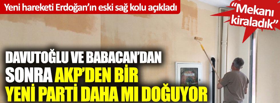 Yeni hareketi Erdoğan'ın eski sağ kolu açıkladı: Davutoğlu ve Babacan'dan sonra AKP'den bir yeni parti daha mı doğuyor