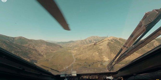 ATAK helikopterinin operasyon anı görüntülendi: Nefes kesen anlar
