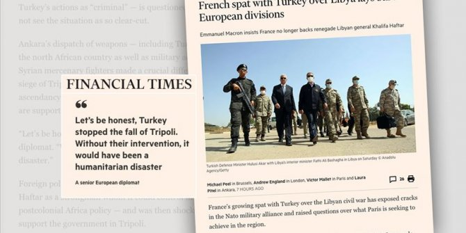 Financial Times yazdı: Fransa'nın derdi Türkiye değil, ayıbını örtmek