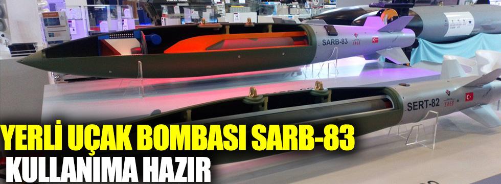 Yerli uçak bombası SARB-83 kullanıma hazır