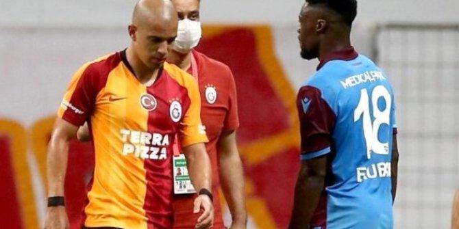 Galatasaray'da Feghouli'ye ceza yolda