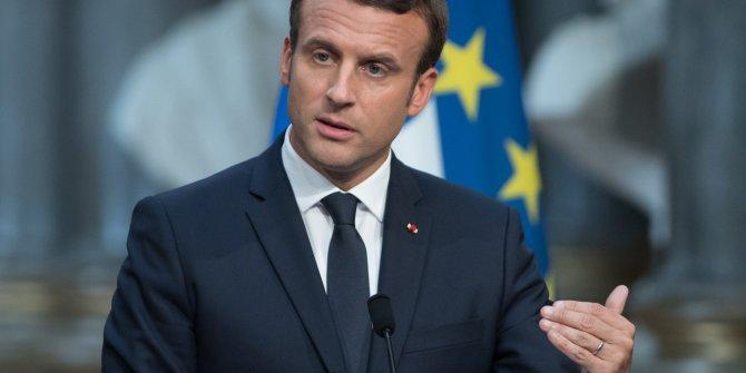 Macron Lübnan'da bile yine Türkiye'yi suçladı: Biz yapmazsak Türkler yapacak!