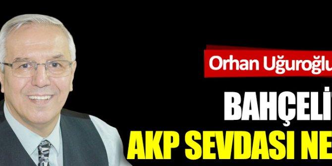 Bahçeli'nin AKP sevdası neden?