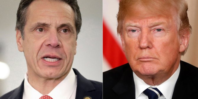 Amerika'da çarşı- pazar karıştı: Vali'den Trump'a suçlama