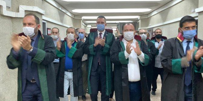 Ankara Adliyesi'nde 'çoklu baro sistemi' eylemi