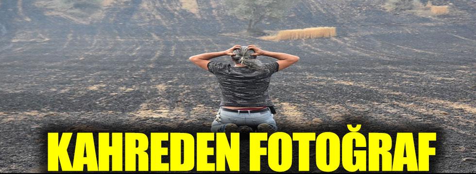 Kahreden fotoğraf Çanakkale'den geldi