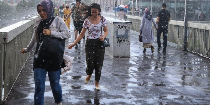 Flaş... Flaş... Meteoroloji şimdi açıkladı… İstanbul için uyarı üstüne uyarı