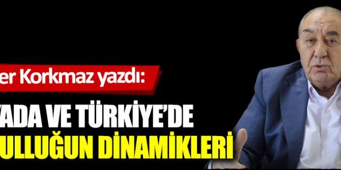 Dünyada ve Türkiye'de  yoksulluğun dinamikleri