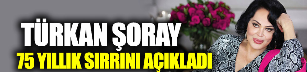 Yeşilçam'ın Sultan'ı Türkan Şoray ilk kez paylaştı! 'Biz aslında üç kardeşiz'