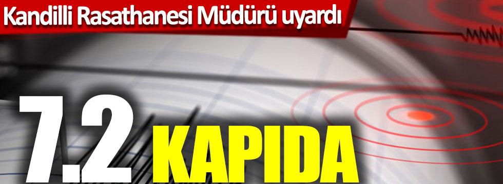 Kandilli Rasathane Müdürü uyardı: İstanbul'da 7.2 deprem kapıda