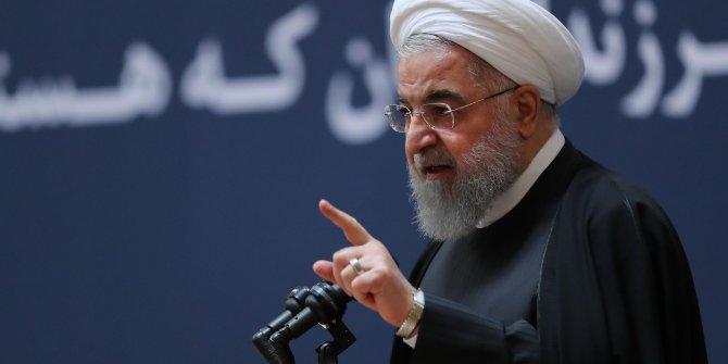 İran Cumhurbaşkanı Ruhani, ABD ve İsrail'i suçladı