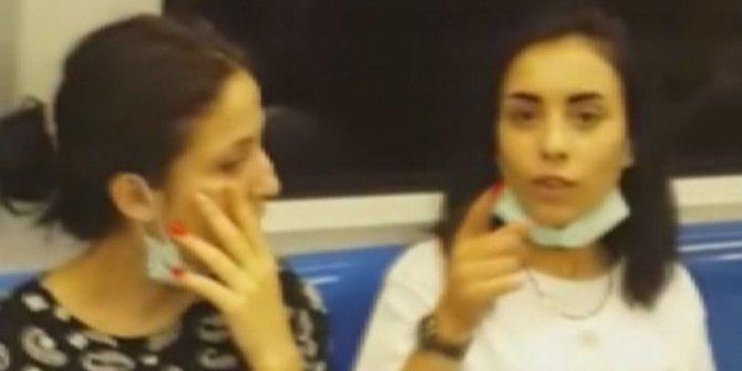 Metroda maske takmama kavgası: Kendisini uyaranlara saldırdı