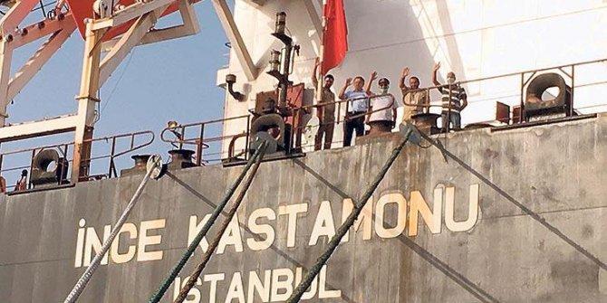 Esir denizciler evlerine dönüyor