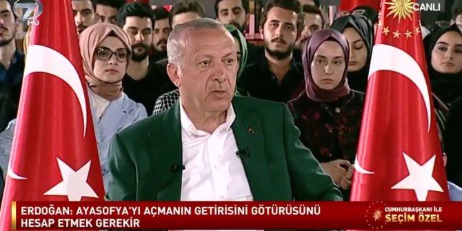 Erdoğan'ın Ayasofya ile ilgili eski söylemleri sosyal medyanın gündeminde