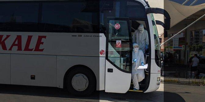 Otobüste korona virüs paniği! Soluğu hastanede aldılar