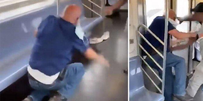 Metroda bıçaklı saldırı: 2 yaralı