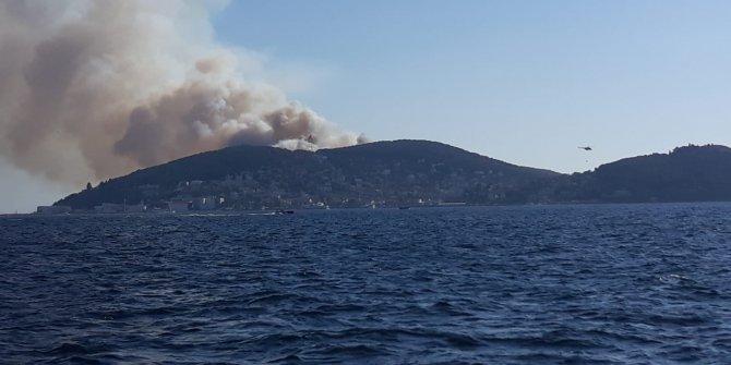 Son Dakika: Heybeliada'da orman yangını!