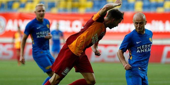 Galatasaray intihar etti, Ankaragücü'ne yenildi