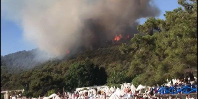 Korkutan yangına jet soruşturma