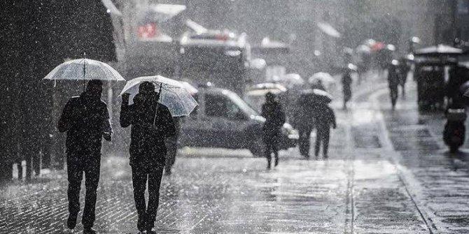 Meteoroloji'den İstanbul için gök gürültülü sağanak yağış uyarısı!