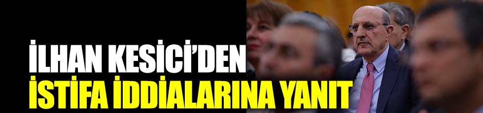İlhan Kesici'den yeni parti iddiaları hakkında açıklama