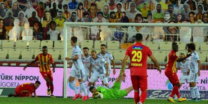 Şampiyonlar ligi aşkına: Beşiktaş, Malatya'yı 1-0 yendi