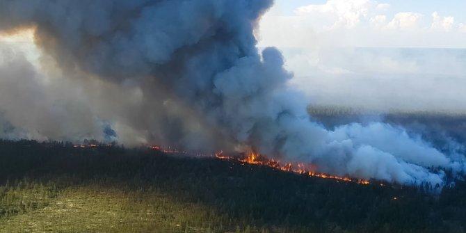 Eyvah! Sibirya'da ormanlar alev alev! Daha başımıza neler gelecek?