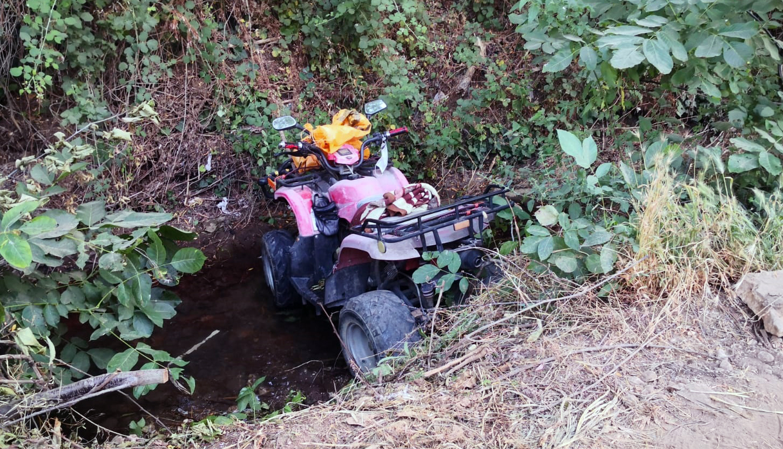 76 yaşındaki kadını ATV motoru canından etti