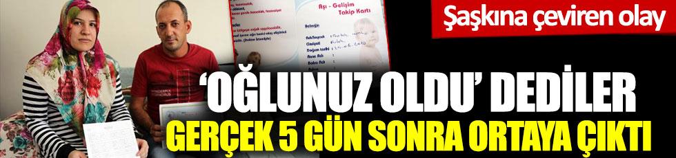 Oğlunuz oldu dediler, gerçek 5 gün sonra ortaya çıktı: Gaziantep'te şaşkına çeviren olay