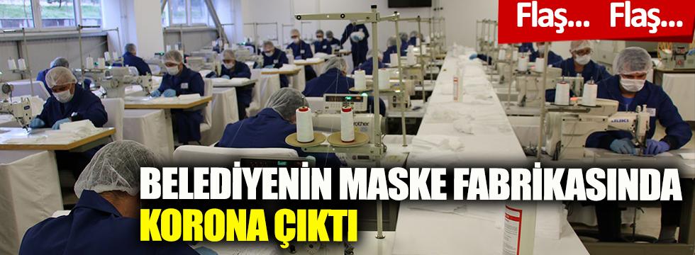 Korona vakası arttı! Maske fabrikası kapandı