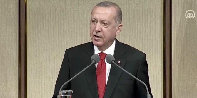 Erdoğan şehit ailelerine seslendi