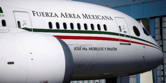 Meksika Devlet Başkanı, sağlık ekipmanı karşılığında uçağını satıyor