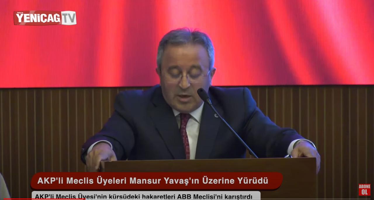Meclis üyeleri Başkan Mansur Yavaş'ın üzerine işte böyle yürüdü!