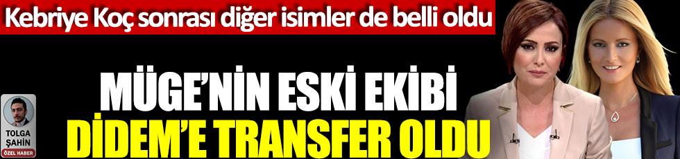 Müge Anlı'nın eski ekibi Didem Arslan'a transfer oldu, Kebriye Koç sonrası diğer isimler de belli oldu