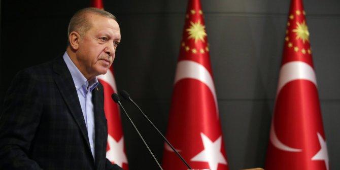 Cumhurbaşkanı Erdoğan Cuma namazı çıkışında konuştu: En ufak saldırıyı karşılıksız bırakmayız