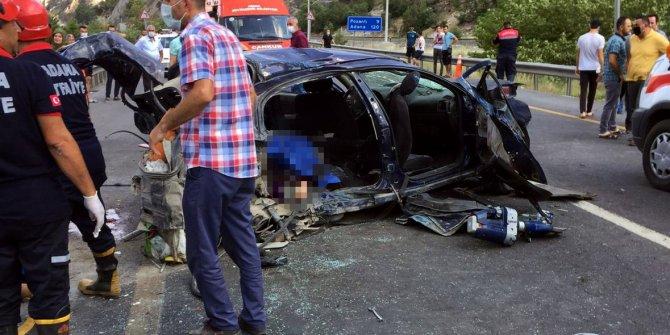 Adana'da korkunç kaza! Ölü ve yaralılar var