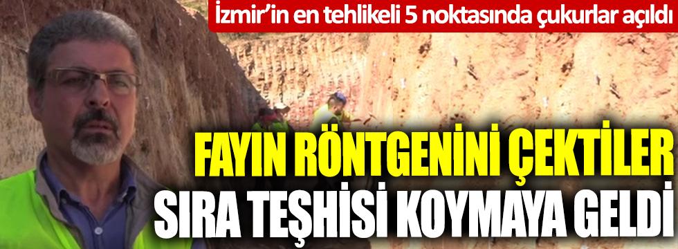 İzmir'in en tehlikeli 5 noktasında çukurlar açıldı! Fayın röntgenini çektiler sıra teşhisi koymaya geldi