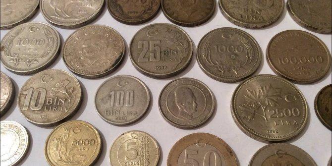 Türkiye'nin ilk madeni paraları 96 yaşında