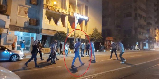 Burası Bursa! Baltayla saldırdı polis vurarak durdu