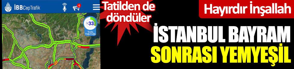 İstanbul, bayram sonrası yemyeşil… Hayırdır İnşallah? Tatilden de döndüler