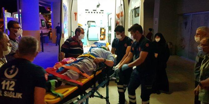 Erzincan'da şarampole devrilen otomobildeki 4 kişi yaralandı