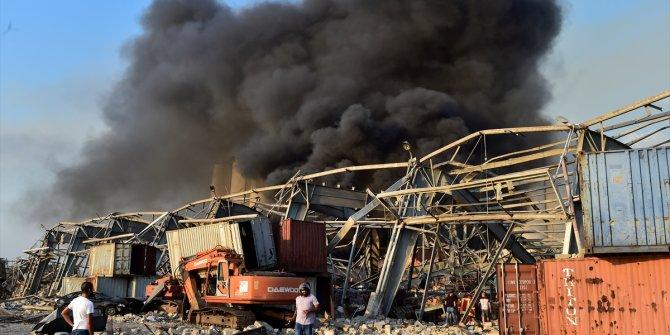 Beyrut'ta patlamanın detaylarını Cumhurbaşkanı Mişel Avn açıkladı