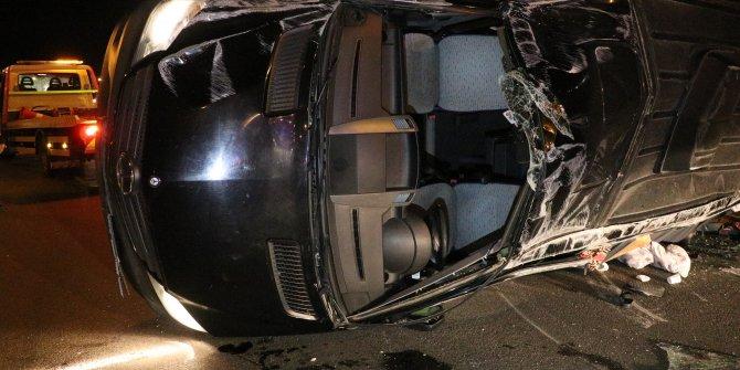 Ankara'da akılalmaz kaza!12 yaralı